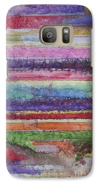 Galaxy Case featuring the painting Perspective by Jacqueline Athmann