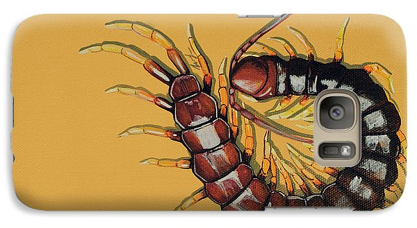Galaxy Case featuring the painting Peruvian Centipede by Jude Labuszewski