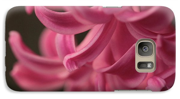 Galaxy Case featuring the photograph Petal Pointing  by Connie Handscomb