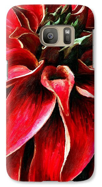 Galaxy Case featuring the painting Petals by James Shepherd