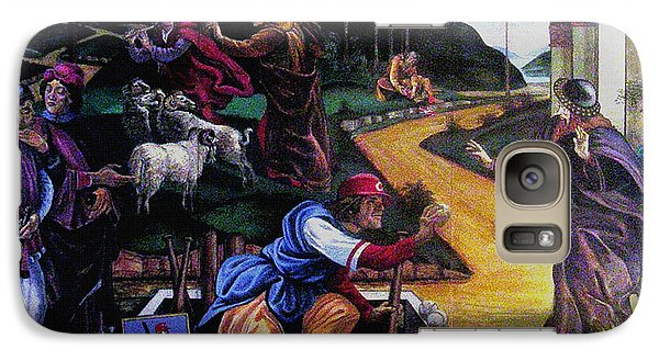 Galaxy Case featuring the painting Pete Rose In The Renaissance by Stan Esson