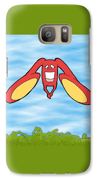 Galaxy Case featuring the drawing Petontas by Uncle J's Monsters