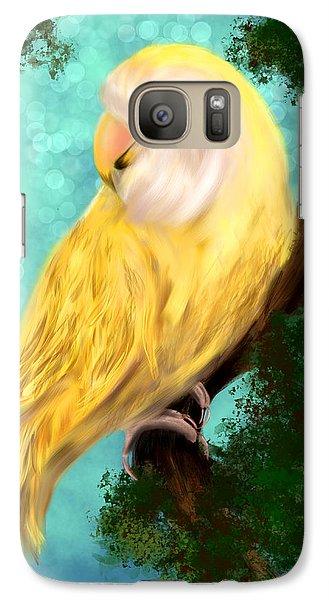 Petrie The Lovebird Galaxy S7 Case