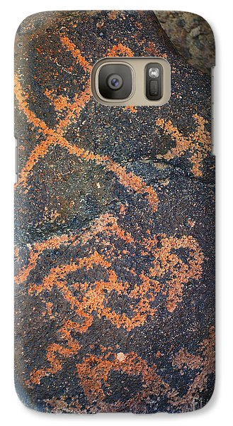 Galaxy Case featuring the photograph Petroglyph Tucson Arizona by Donna Greene