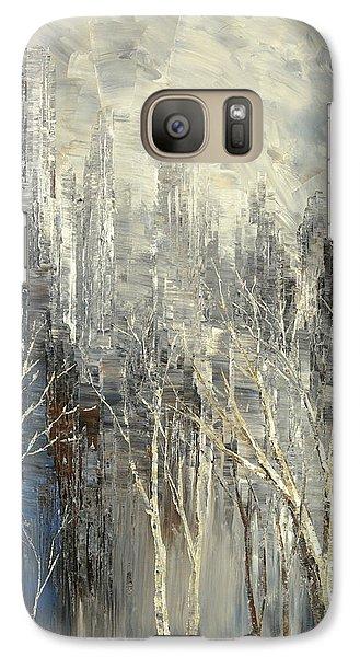 Galaxy Case featuring the painting Phantom Glory by Tatiana Iliina