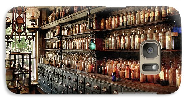 Wizard Galaxy S7 Case - Pharmacy - So Many Drawers And Bottles by Mike Savad