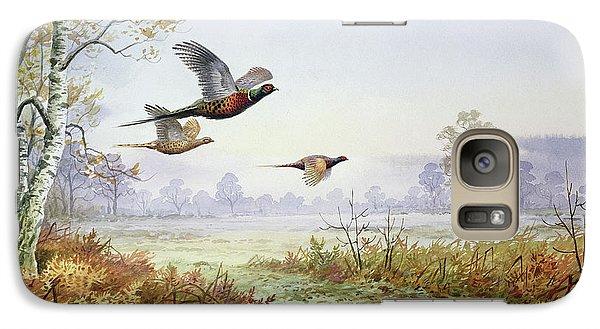 Pheasants In Flight  Galaxy S7 Case