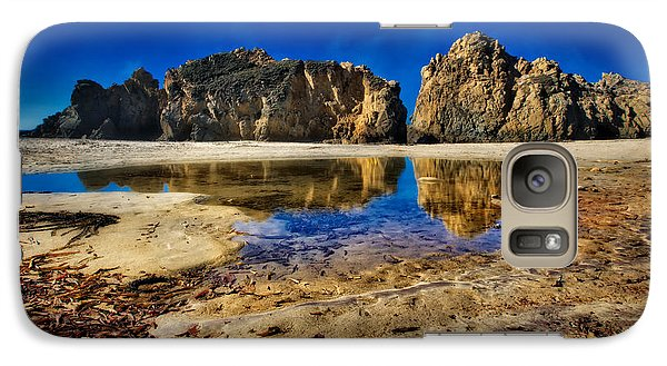 Galaxy Case featuring the photograph Pheiffer Beach #15 - Big Sur, Ca by Jennifer Rondinelli Reilly - Fine Art Photography