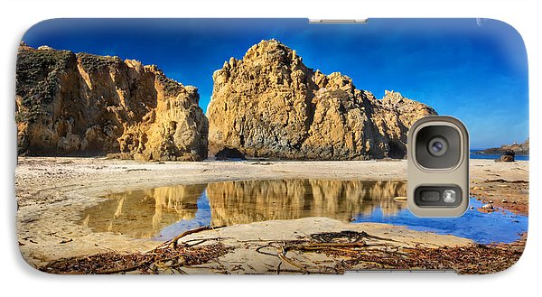 Galaxy Case featuring the photograph Pheiffer Beach - Keyhole Rock #16 - Big Sur, Ca by Jennifer Rondinelli Reilly - Fine Art Photography