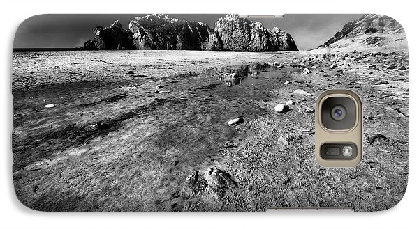Galaxy Case featuring the photograph Pheiffer Beach -keyhole Rock #17 Big Sur, Ca by Jennifer Rondinelli Reilly - Fine Art Photography