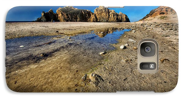 Galaxy Case featuring the photograph Pheiffer Beach -keyhole Rock #18 - Big Sur, Ca by Jennifer Rondinelli Reilly - Fine Art Photography