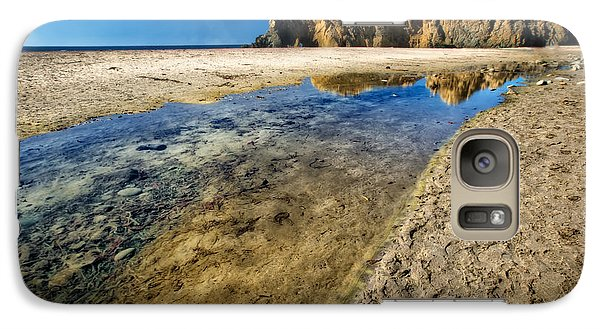Galaxy Case featuring the photograph Pheiffer Beach- Keyhole Rock #19 - Big Sur, Ca by Jennifer Rondinelli Reilly - Fine Art Photography