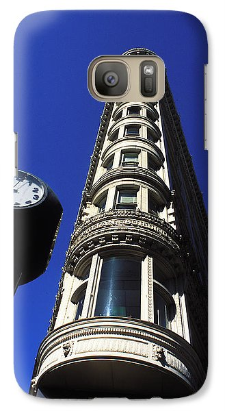 Galaxy Case featuring the photograph Phelan Building In San Francisco by Carl Purcell