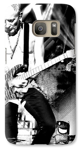 Def Leppard Galaxy S7 Case - Phil Collen Of Def Leppard 4 by David Patterson