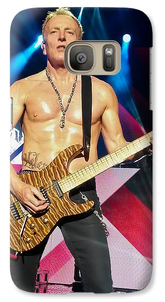 Def Leppard Galaxy S7 Case - Phil Collen Of Def Leppard 5 by David Patterson