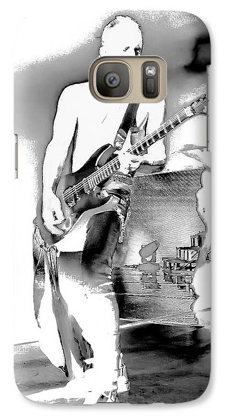 Def Leppard Galaxy S7 Case - Phil Collen Of Def Leppard by David Patterson