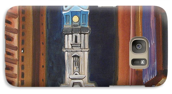 Galaxy Case featuring the painting Philadelphia City Hall by Patricia Arroyo