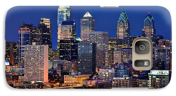 Philadelphia Skyline At Night Galaxy S7 Case
