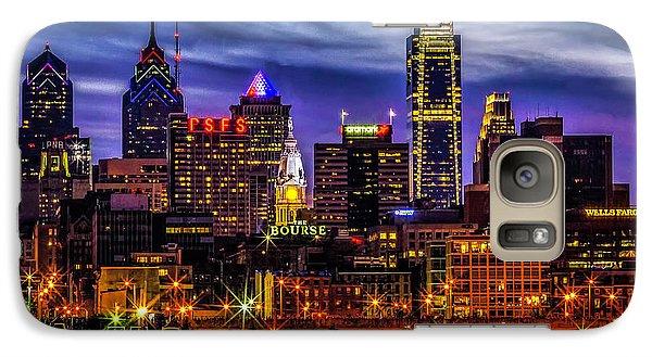 Galaxy Case featuring the photograph Philadelphia Skyline by Nick Zelinsky