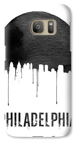 Philadelphia Skyline White Galaxy S7 Case