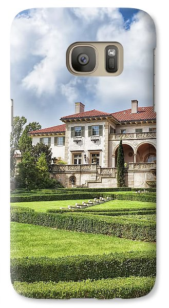 Galaxy Case featuring the photograph Philbrook Museum Tulsa Oklahoma Photograph  by Ann Powell