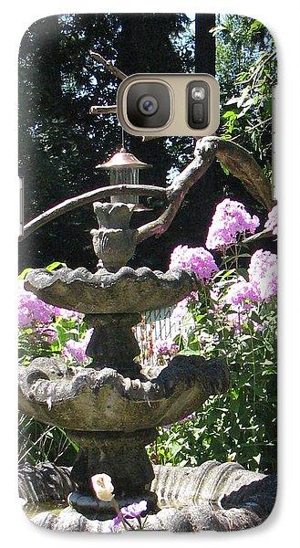 Galaxy Case featuring the photograph Phlox Garden by Judyann Matthews