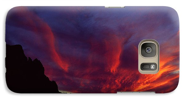 Phoenix Risen Galaxy Case by Randy Oberg