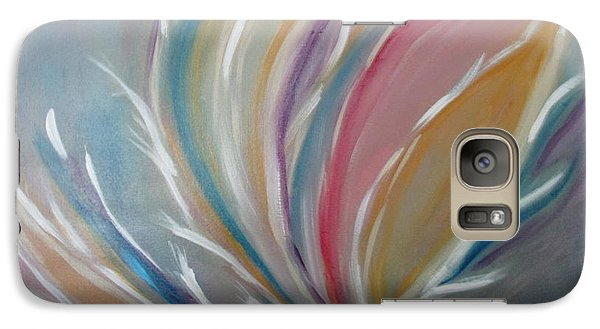 Galaxy Case featuring the painting Phoenix Rising by Sharyn Winters
