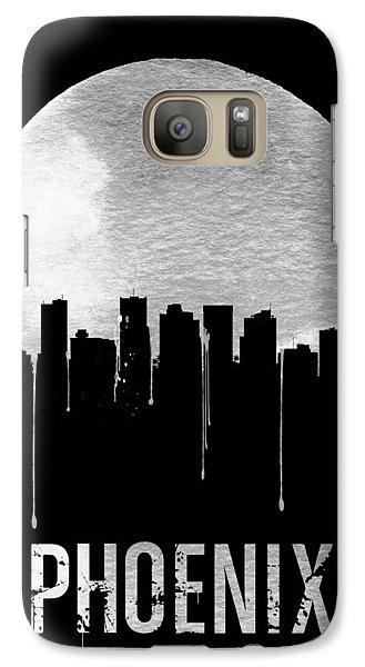 Phoenix Skyline Black Galaxy Case by Naxart Studio