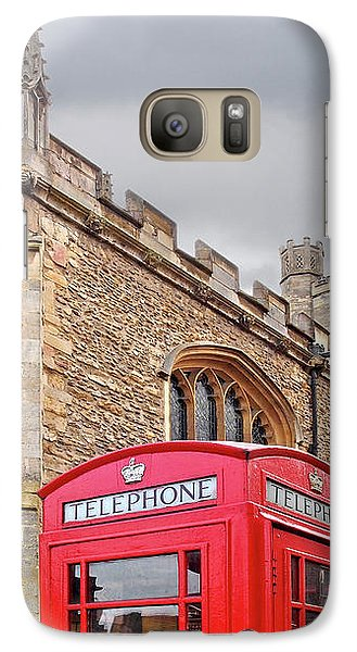 Galaxy Case featuring the photograph Phone Home - Gt St Marys Church Cambridge by Gill Billington