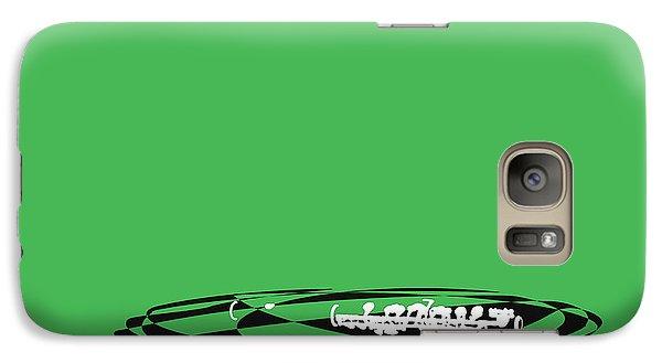 Galaxy Case featuring the digital art Piccolo In Green by Jazz DaBri