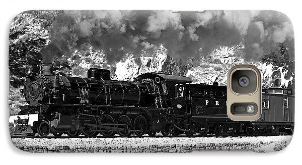 Galaxy Case featuring the photograph Pichi Richi Railwaytrain by Bill  Robinson