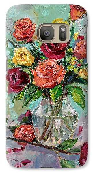 Galaxy Case featuring the painting Picked For You by Jennifer Beaudet