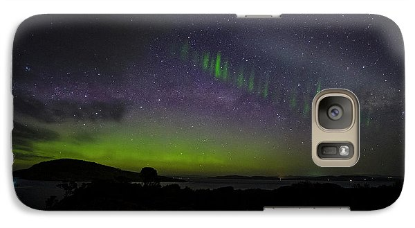 Galaxy Case featuring the photograph Picket Fences by Odille Esmonde-Morgan