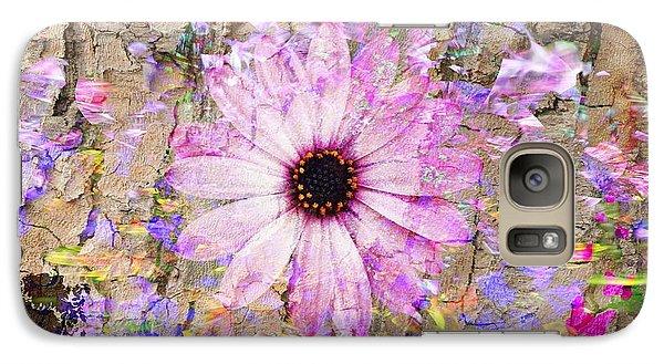 Galaxy Case featuring the photograph Pickin Wildflowers by Amanda Eberly-Kudamik