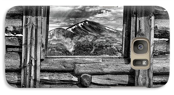 Galaxy Case featuring the photograph Picture Window #3 by Eric Glaser