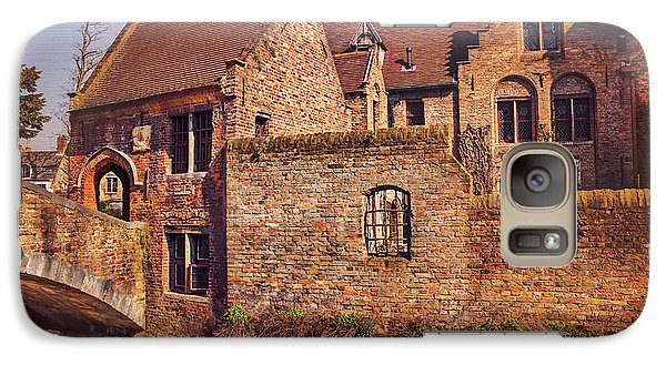 Galaxy Case featuring the photograph Picturesque Bruges  by Carol Japp