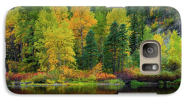 Galaxy Case featuring the photograph Picturesque Tumwater Canyon by Dan Mihai