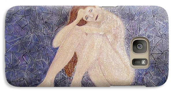 Galaxy Case featuring the painting Pieces Of Me by Desiree Paquette
