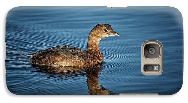 Galaxy Case featuring the photograph Pied Billed Grebe by Randy Hall
