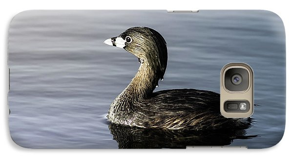 Galaxy Case featuring the photograph Pied-billed Grebe by Robert Frederick