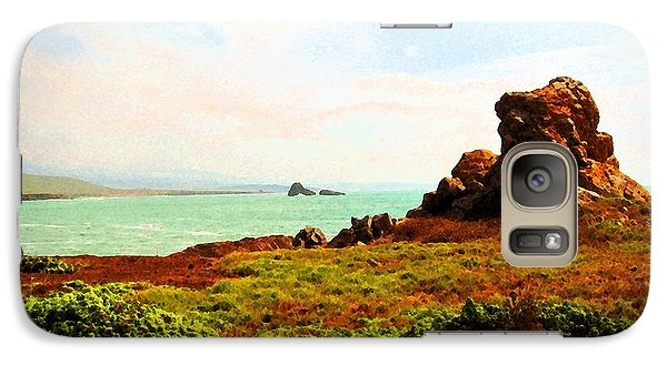 Galaxy Case featuring the photograph Piedras Blancas 3 by Timothy Bulone