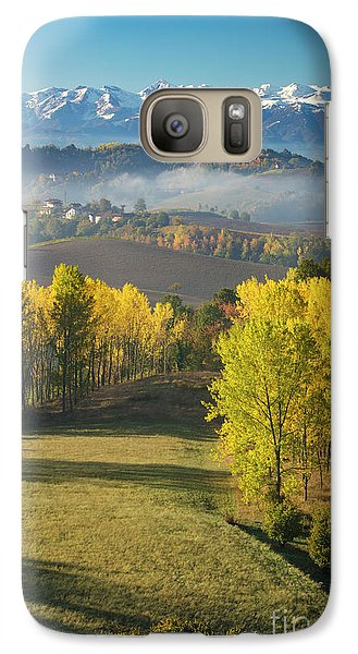 Galaxy Case featuring the photograph Piemonte Morning by Brian Jannsen