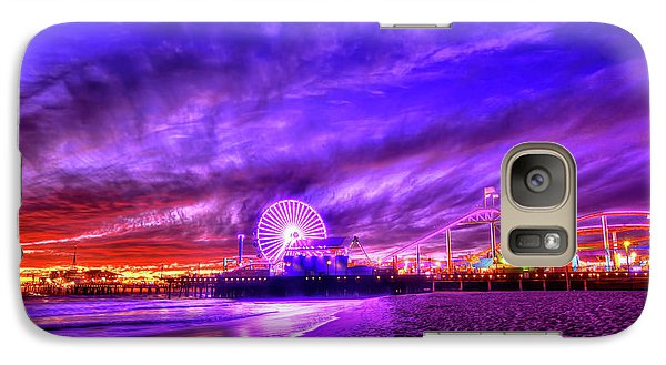 Pier Of Lights Galaxy S7 Case by Midori Chan