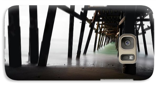 Galaxy Case featuring the photograph Pier Pressure by Sean Foster
