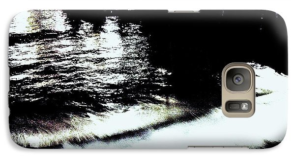 Galaxy Case featuring the photograph Pier by Vanessa Palomino