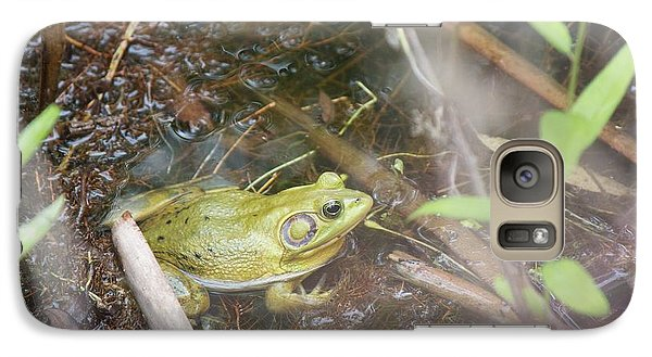 Galaxy Case featuring the photograph Pig Frog by David Grant