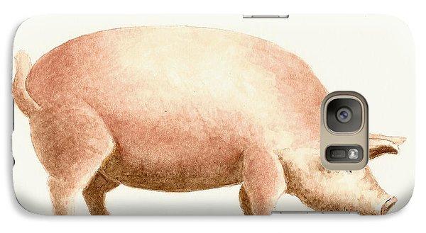 Pig Galaxy S7 Case - Pig by Michael Vigliotti