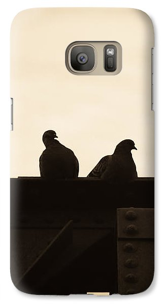 Dove Galaxy S7 Case - Pigeon And Steel by Bob Orsillo
