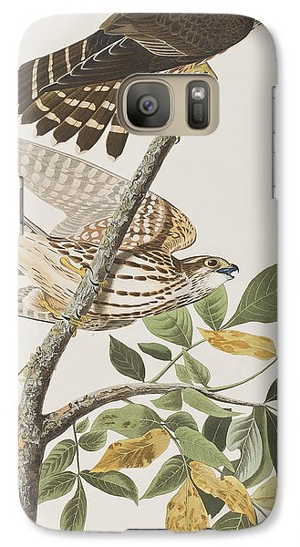Pigeon Hawk Galaxy S7 Case by John James Audubon